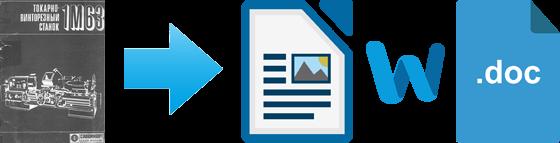 Паспорта на станки и техдокументация на оборудование в Word формате для редактирования